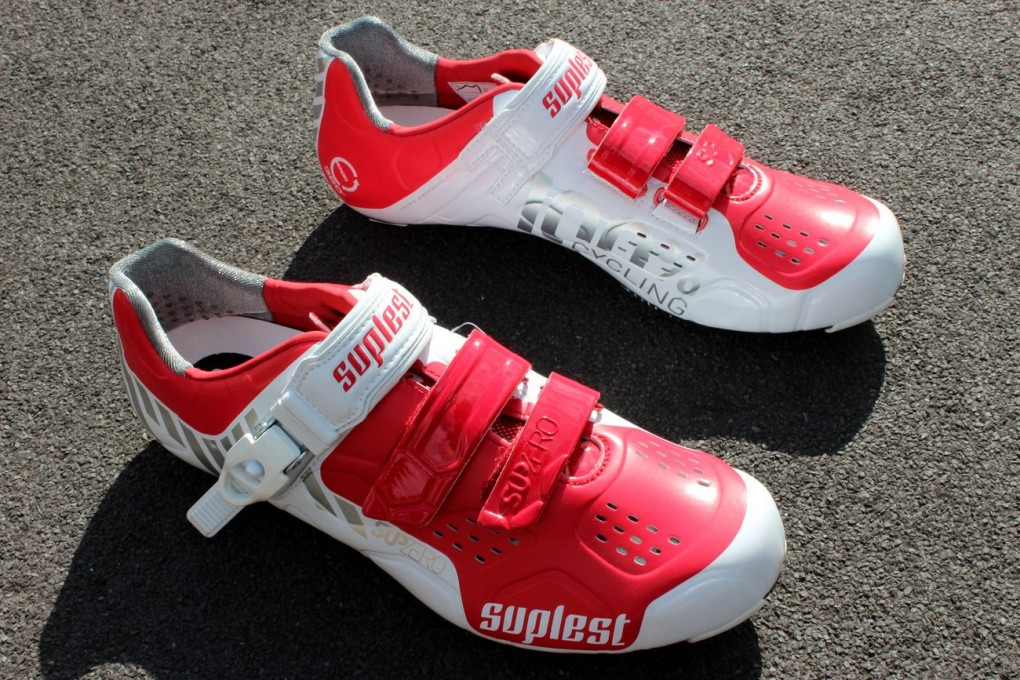 Suplest Street Racing Carbon Buckle cycling shoes (Pic: George Scott/Factory Media)