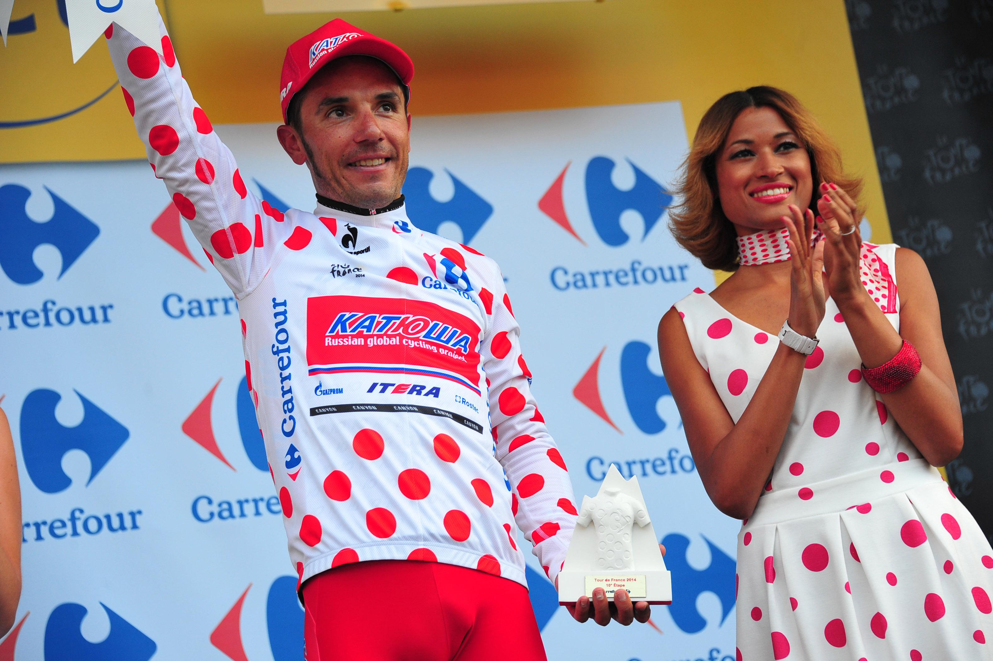 Das Bergtrikot auf der Tour de France 2014. (Foto: Sirotti)
