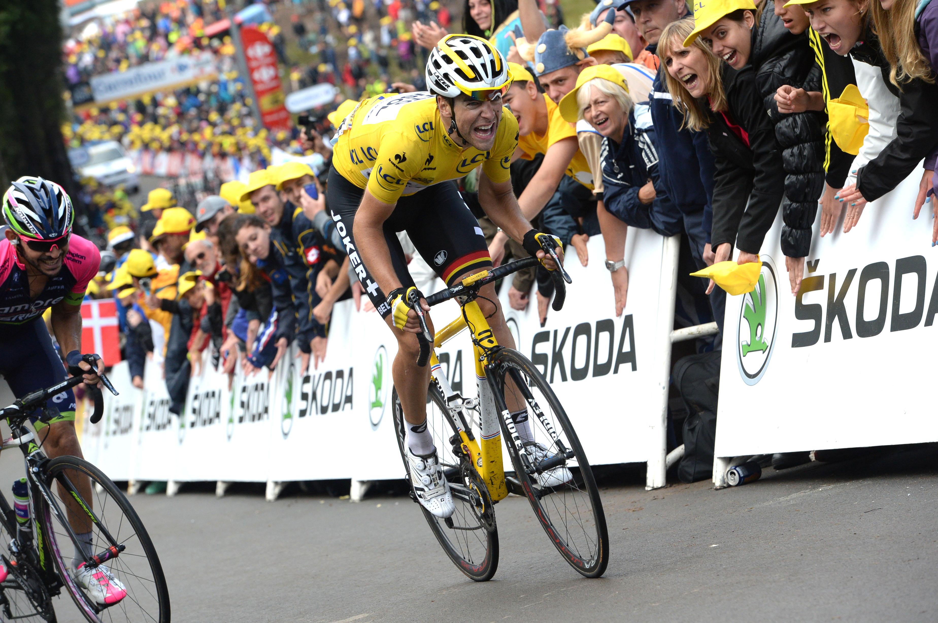 Gallopin muss sein Gelbes Trikot abgeben. (Foto: Sirotti)