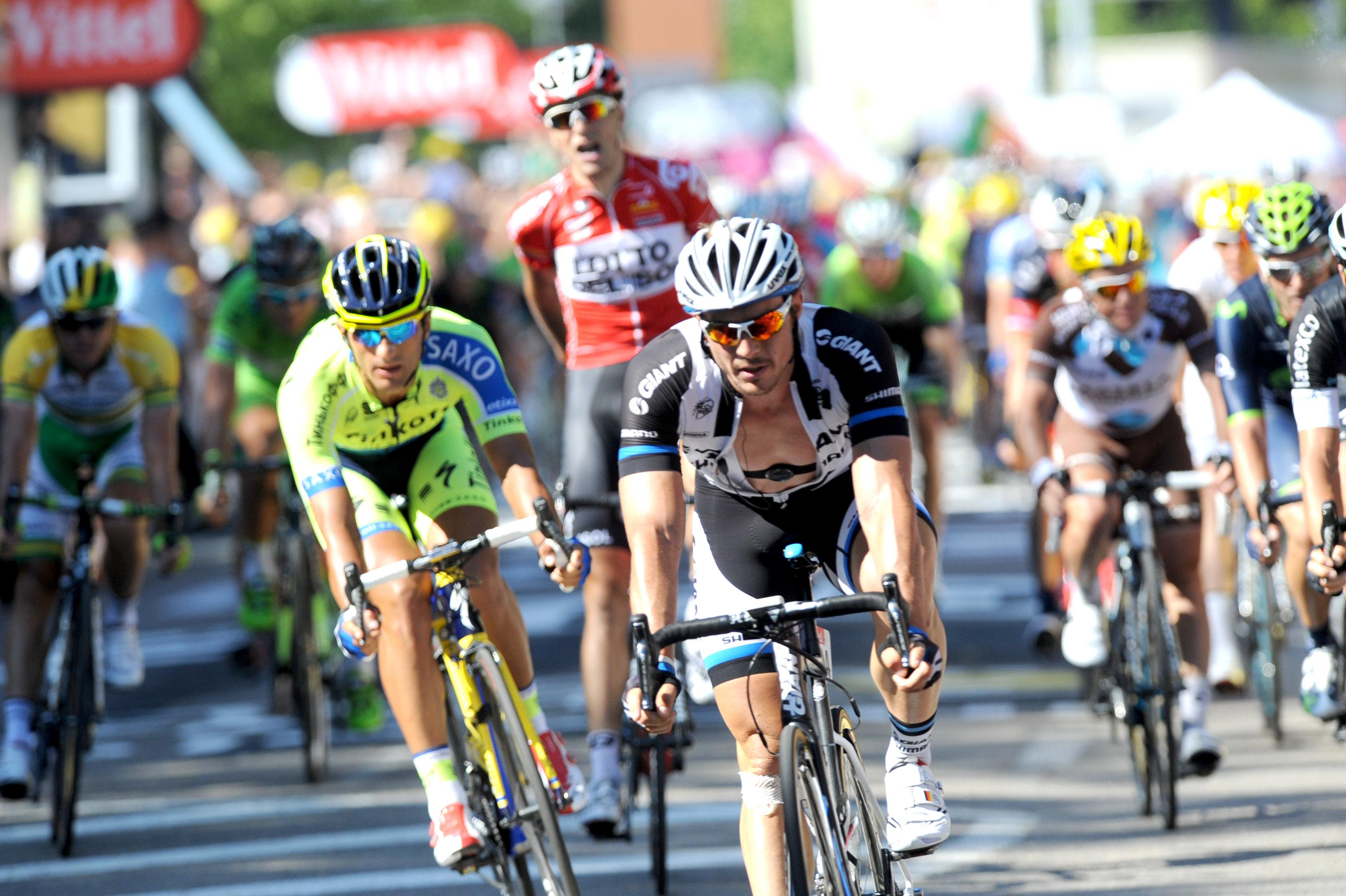 Gallopins Sieg der 11. Etappe der Tour (Foto: Sirotti)