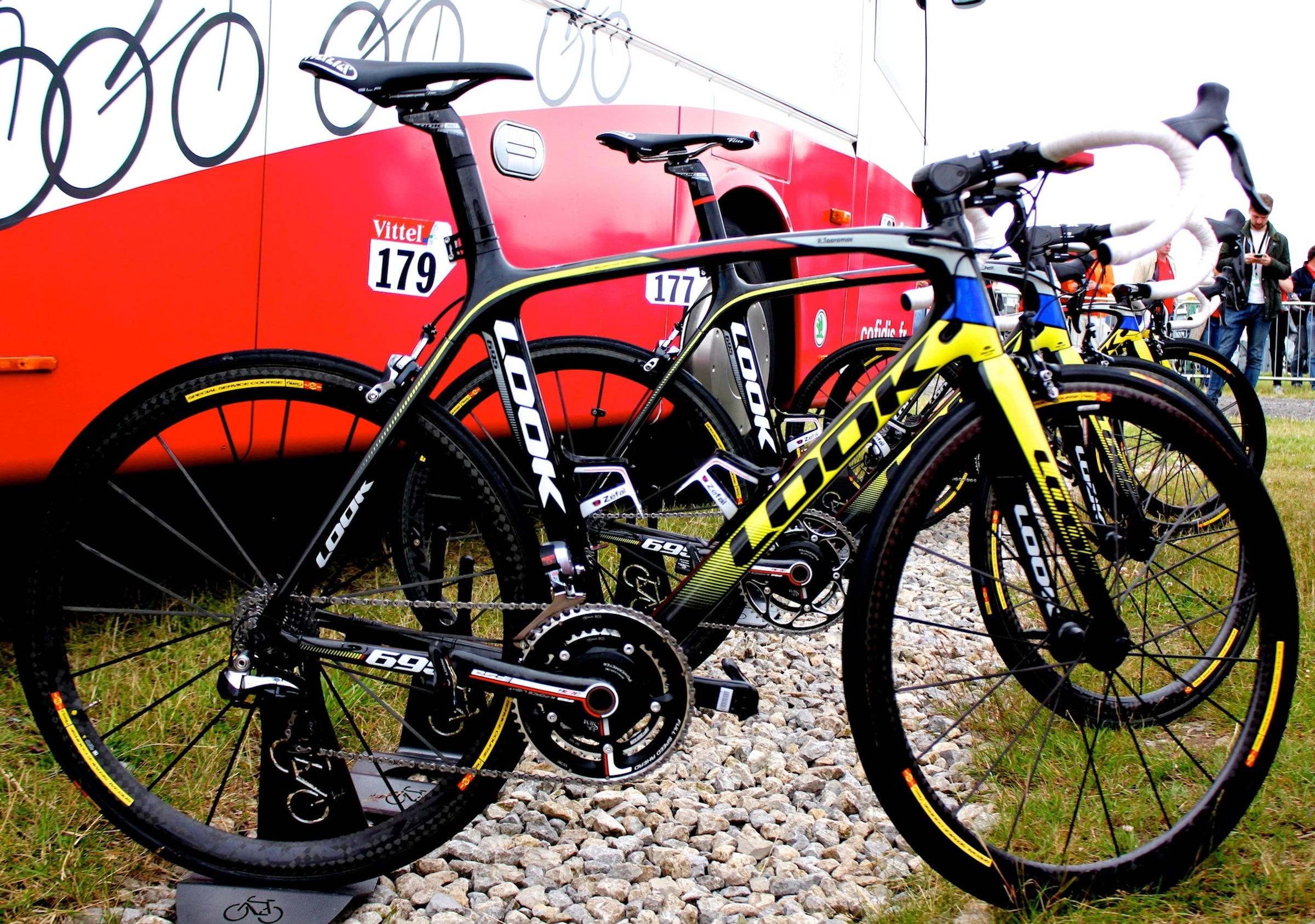 Das Look 695 Pro-Bike von Rein Taaramäe
