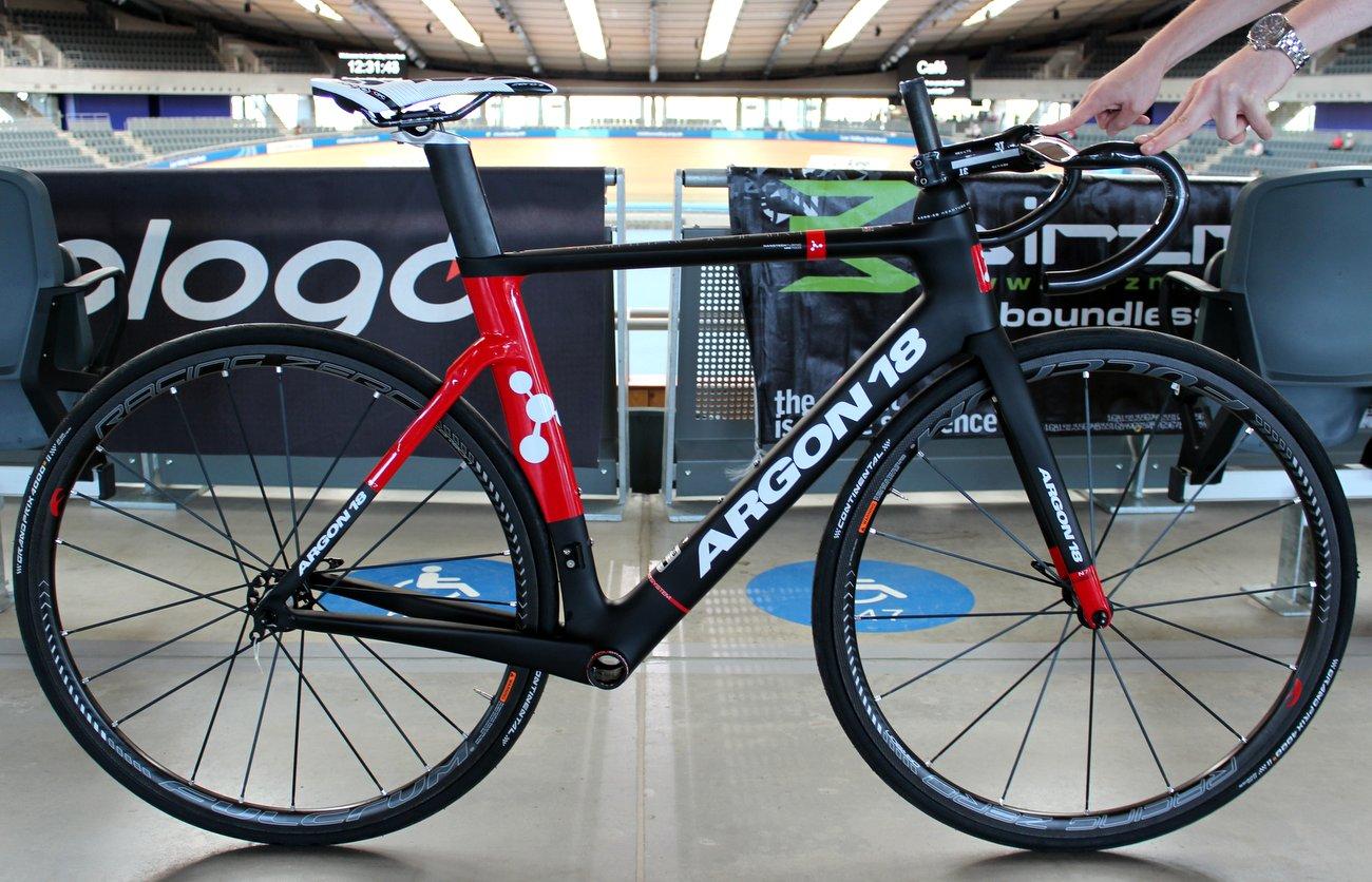 Das Nitrogen ist Argon 18s neues Aero-Bike.