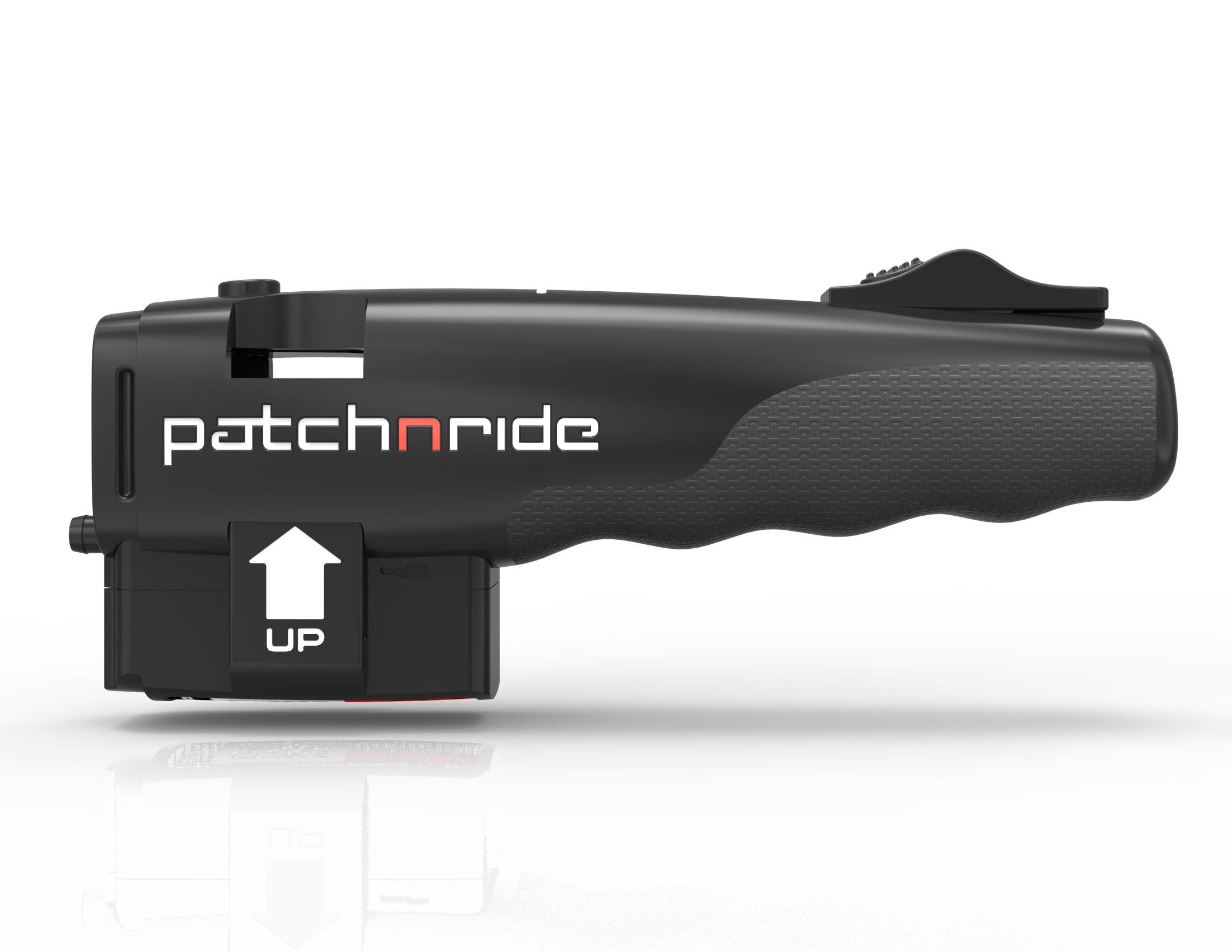 Der Injektor kann mit verschiedenen Patronen für Rennrad und Mountainbike befüllt werden.