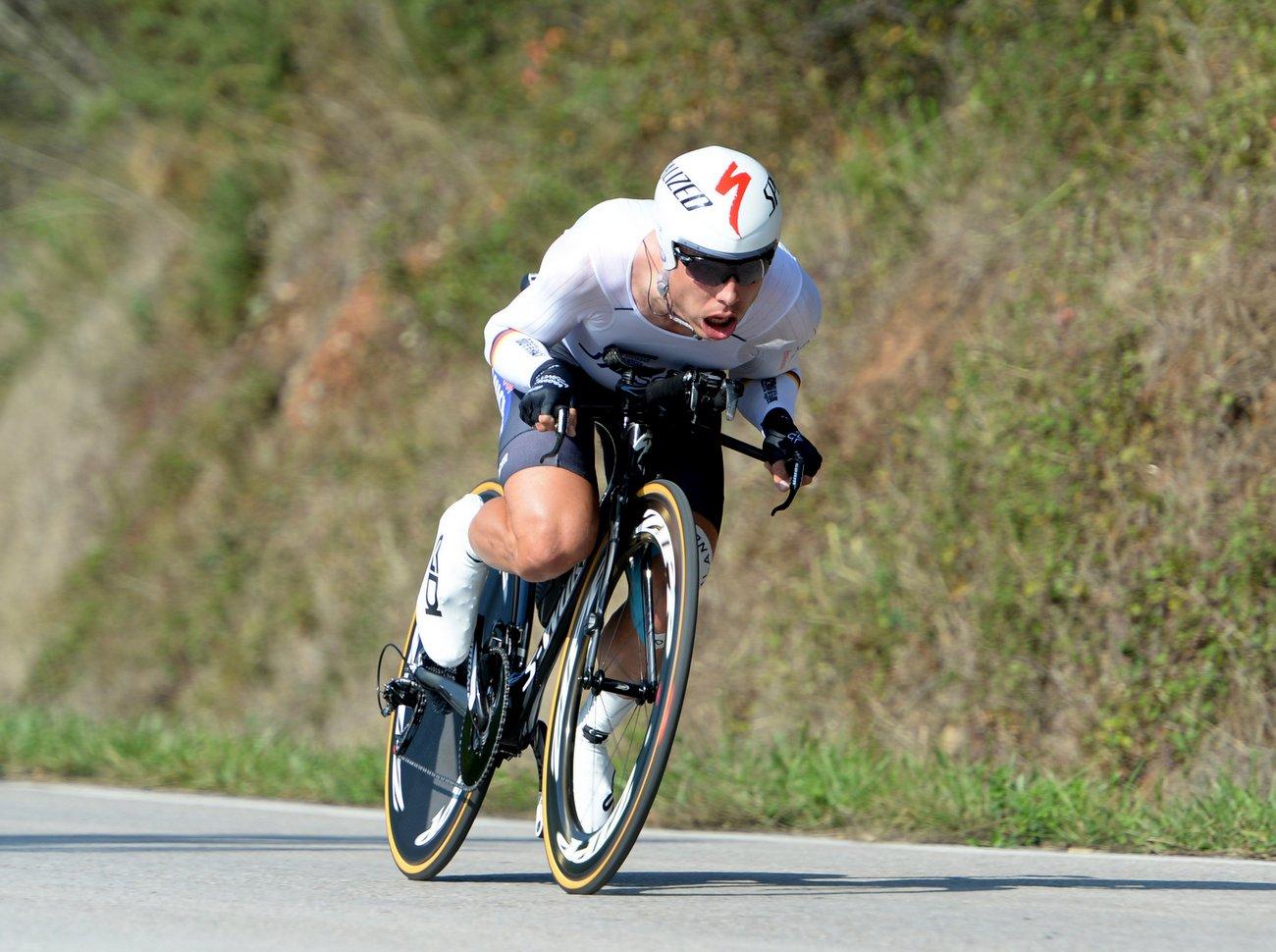 Tony Martin hat die Silbermedaille der UCI-Weltmeisterschaft im Einzelzeitfahren gewonnen.