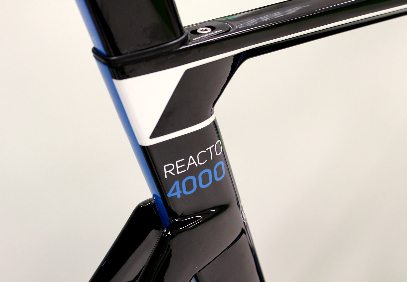 Merida Reacto 4000 aus Carbon für 2015.