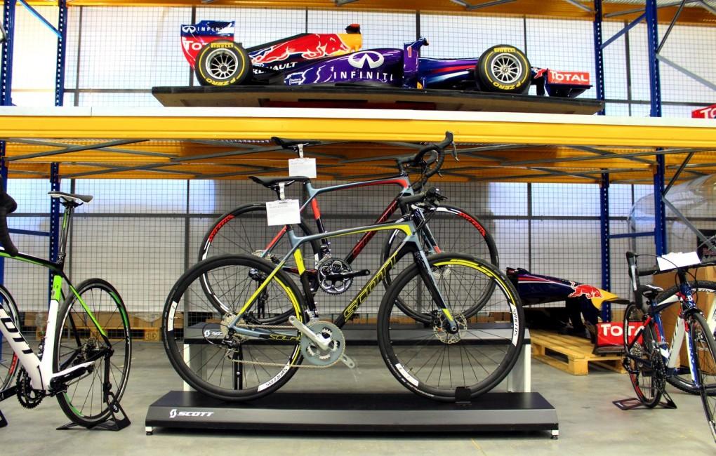 Scott stellte seine neuen Modelle für 2015 vor. Red Bull Racing spielt dabei auch eine Rolle.