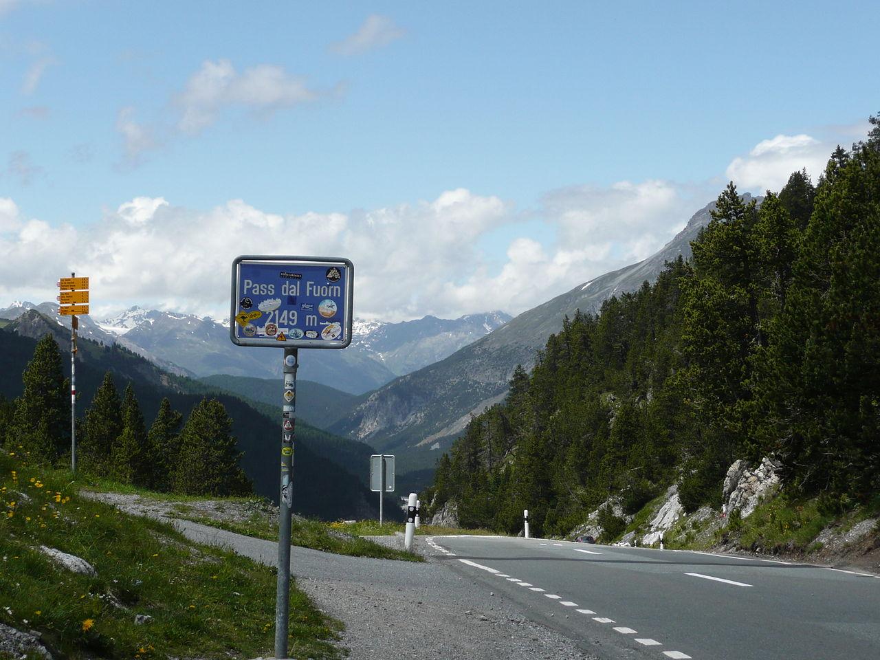 Die Ofenpassstraße befindet sich im Osten der Schweiz. (Foto: Creative Commons Wikipedia CC BY-SA 3.0)