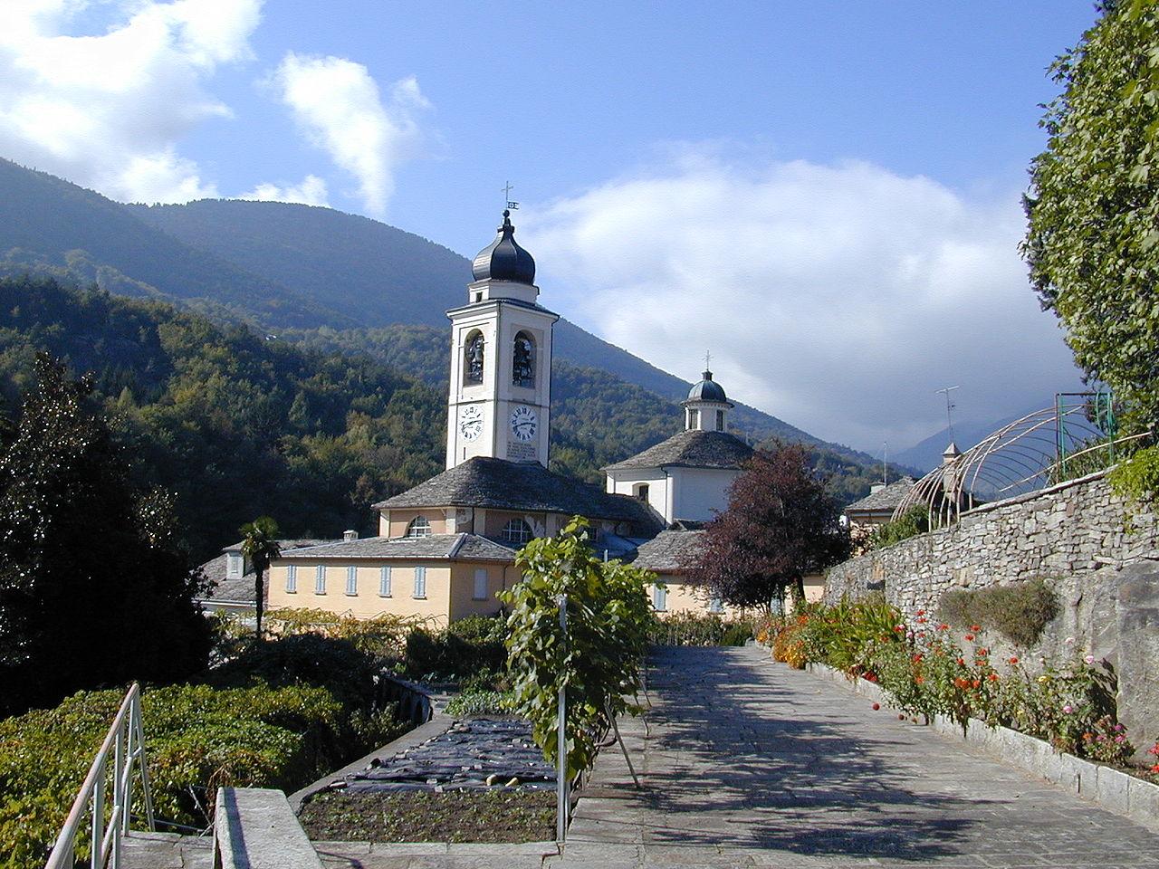 Sacro Monte di Oropa in Italien. (Foto: Creative Commons Stefano Bistolfi@deWikipedia)