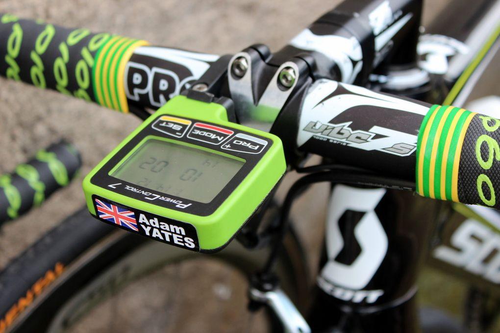 Der hier abgebildete Power Control 7 ist ein Fahrradcomputer aus dem Hause SRM und zeichnet alle wichtigen Trainingsdaten auf.