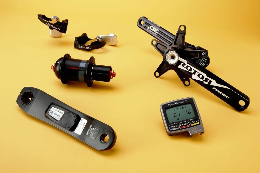 Mit Trainingsgeräten, wie einem Powermeter, kannst du dein Training effektiver gestalten.
