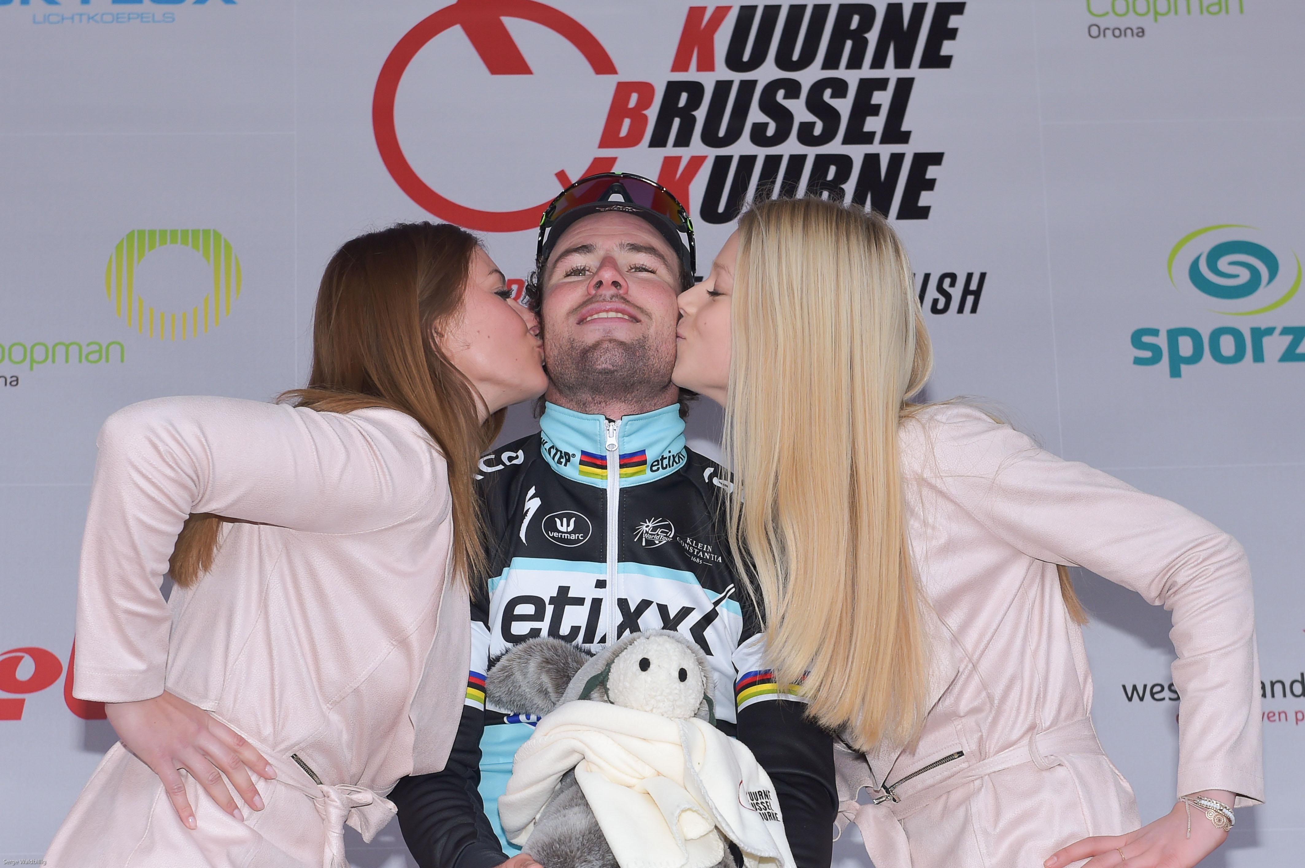 Mark Cavendish hat inklusive der Dubai Tour-Gesamtwertung nun insgesamt 6 Siege in dieser Saison eingefahren. (Foto: Sirotti)