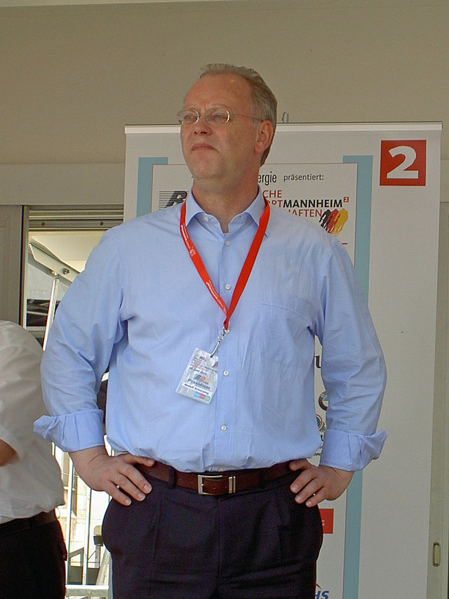 Rudolf Scharping, der Präsident des BDR. (Foto: Wikipedia)