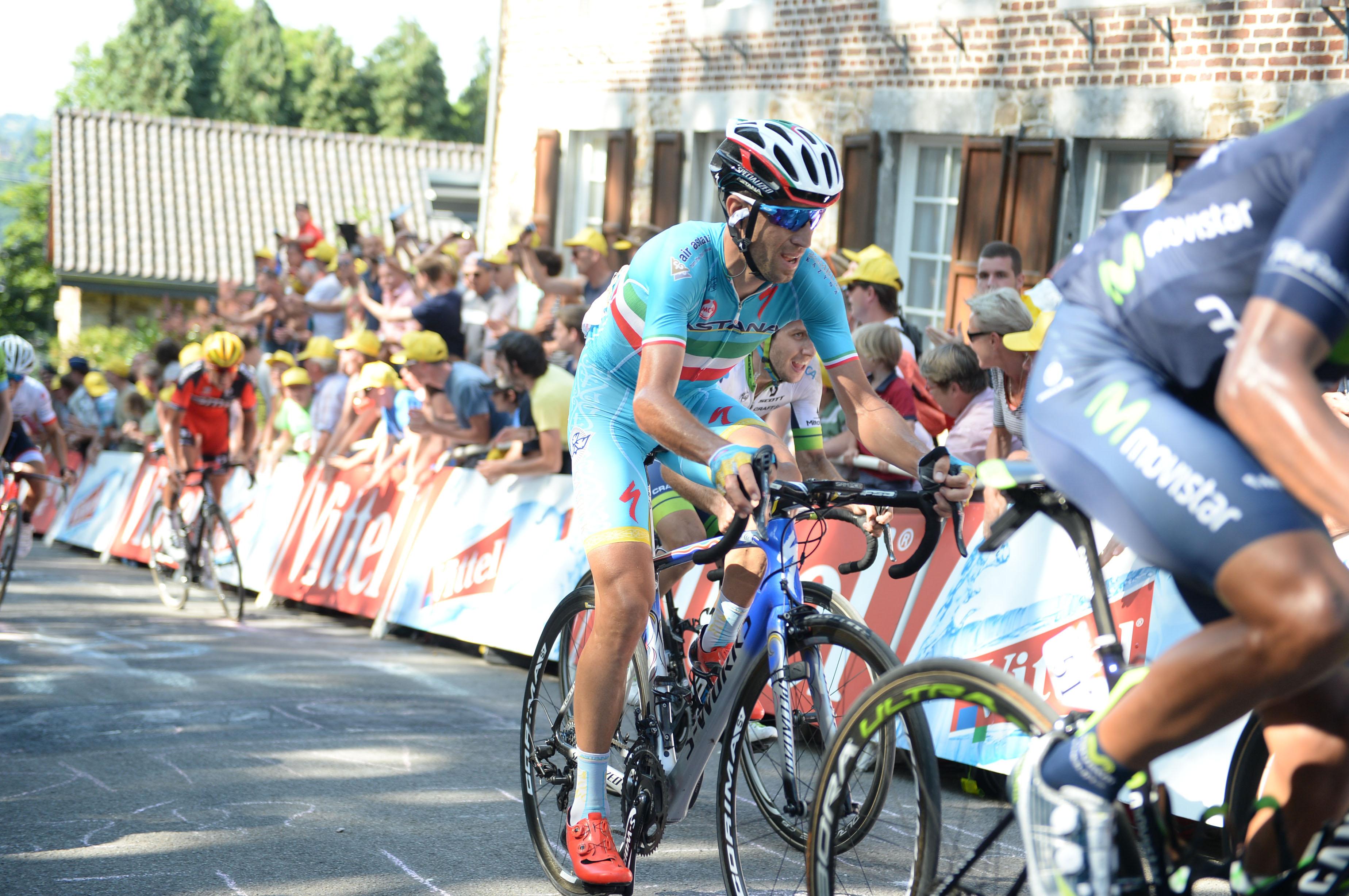 Vincenzo Nibali - Tour de France 2015. (pic: Sirotti)
