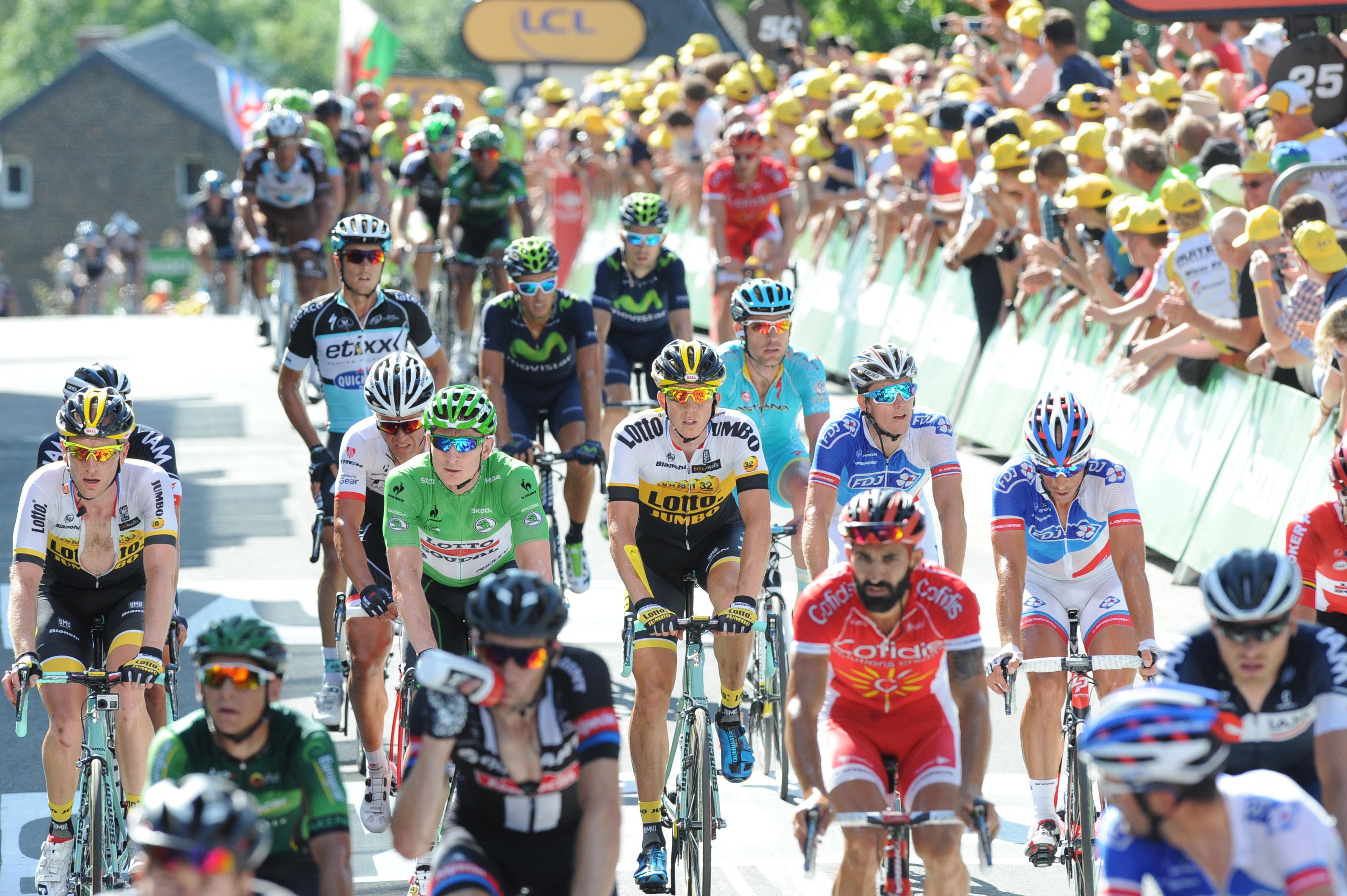 Andre Greipel - 3. Etappe - Tour de France 2015. (pic: Sirotti)