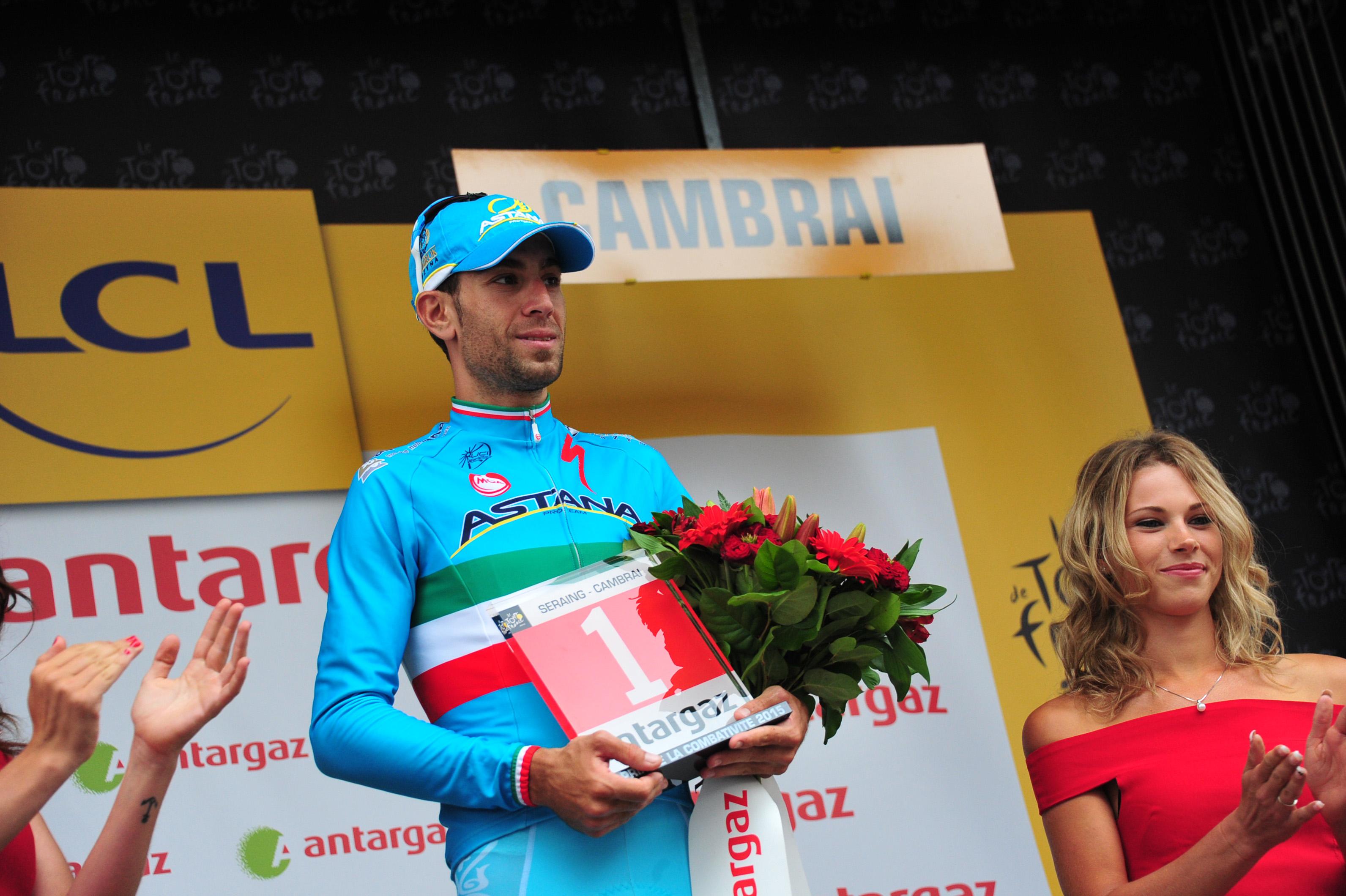 Vincenzo Nibali zeigte eine tolle Leistung auf dem Pavé. (pic: Sirotti)