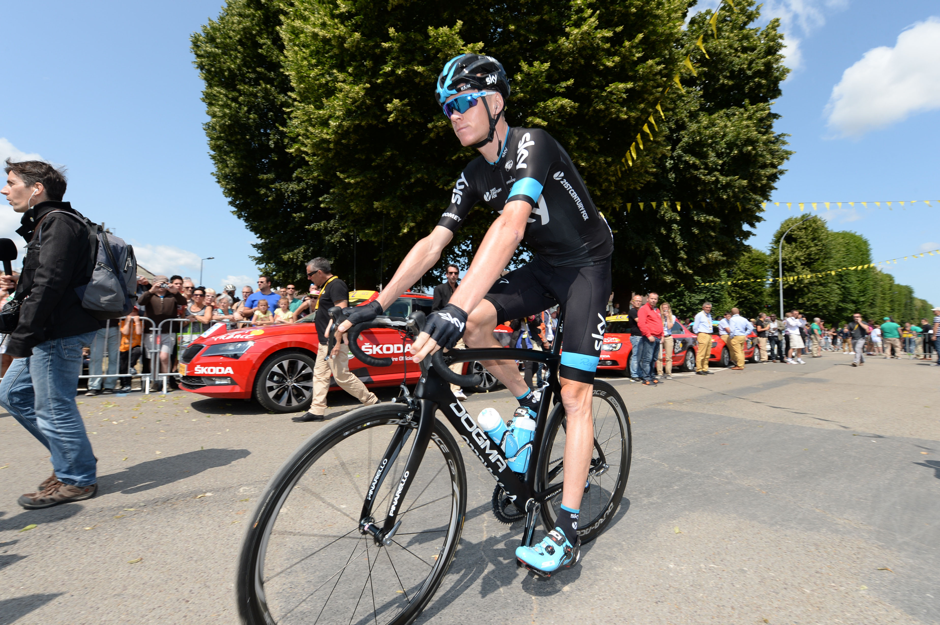 Tour de France 2015 - 6. Etappe - Chris Froome