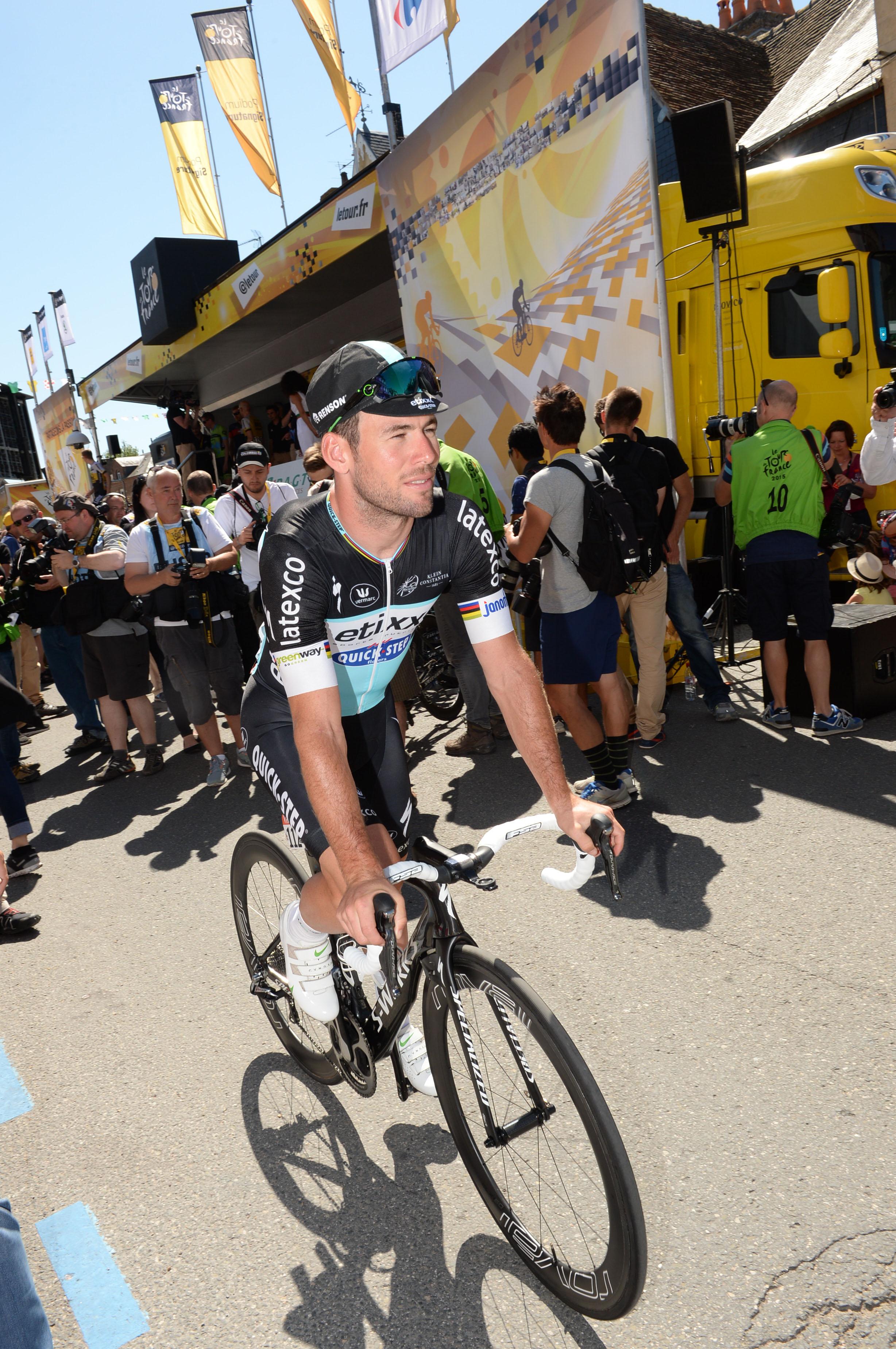 Tour de France 2015 - 7. Etappe - Mark Cavendish gewinnt vor Greipel, Sagan und Degenkolb.