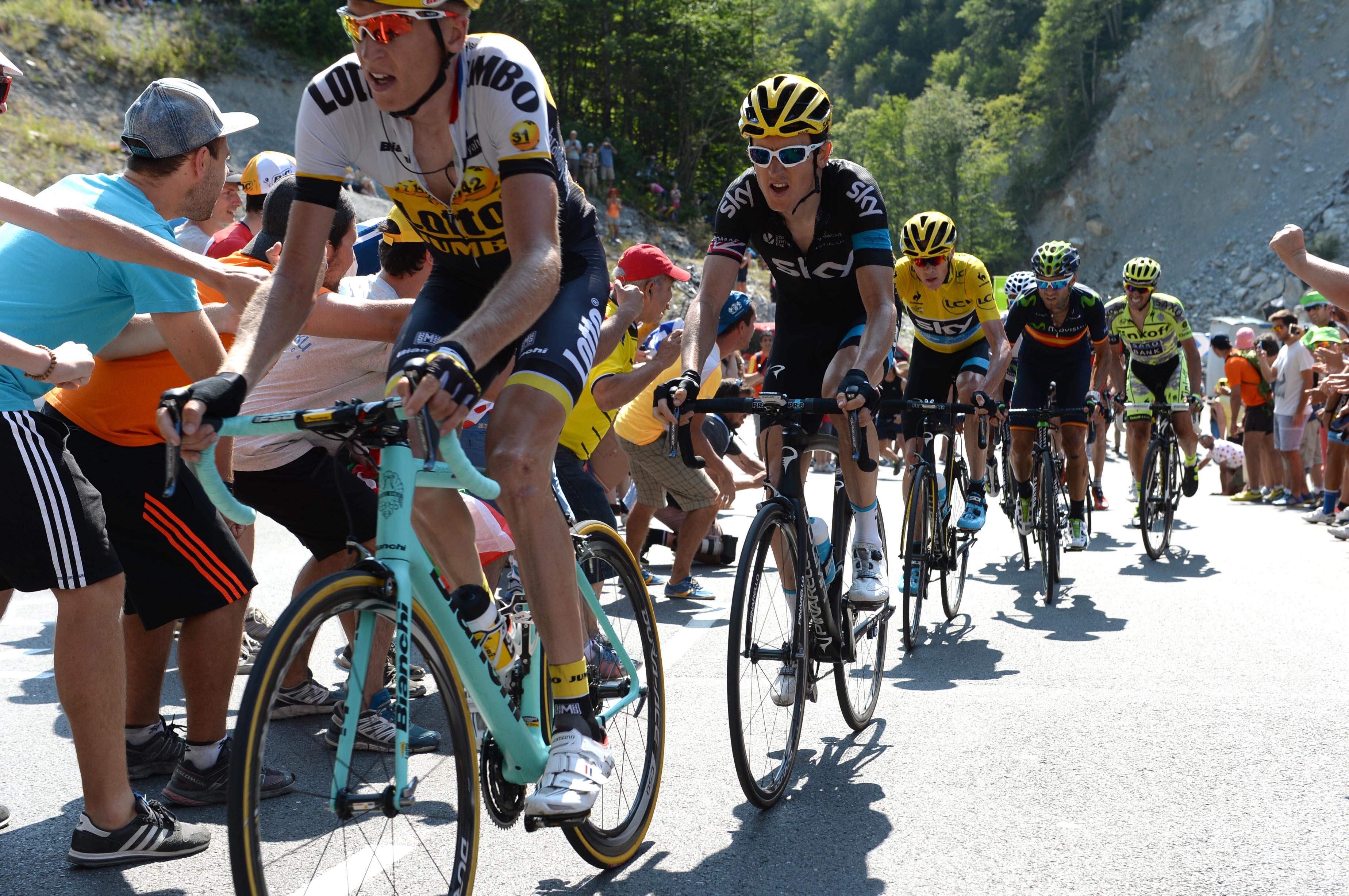 Team Sky hat auf der 11. Etappe der Tour de France 2015 nichts anbrennen lassen.