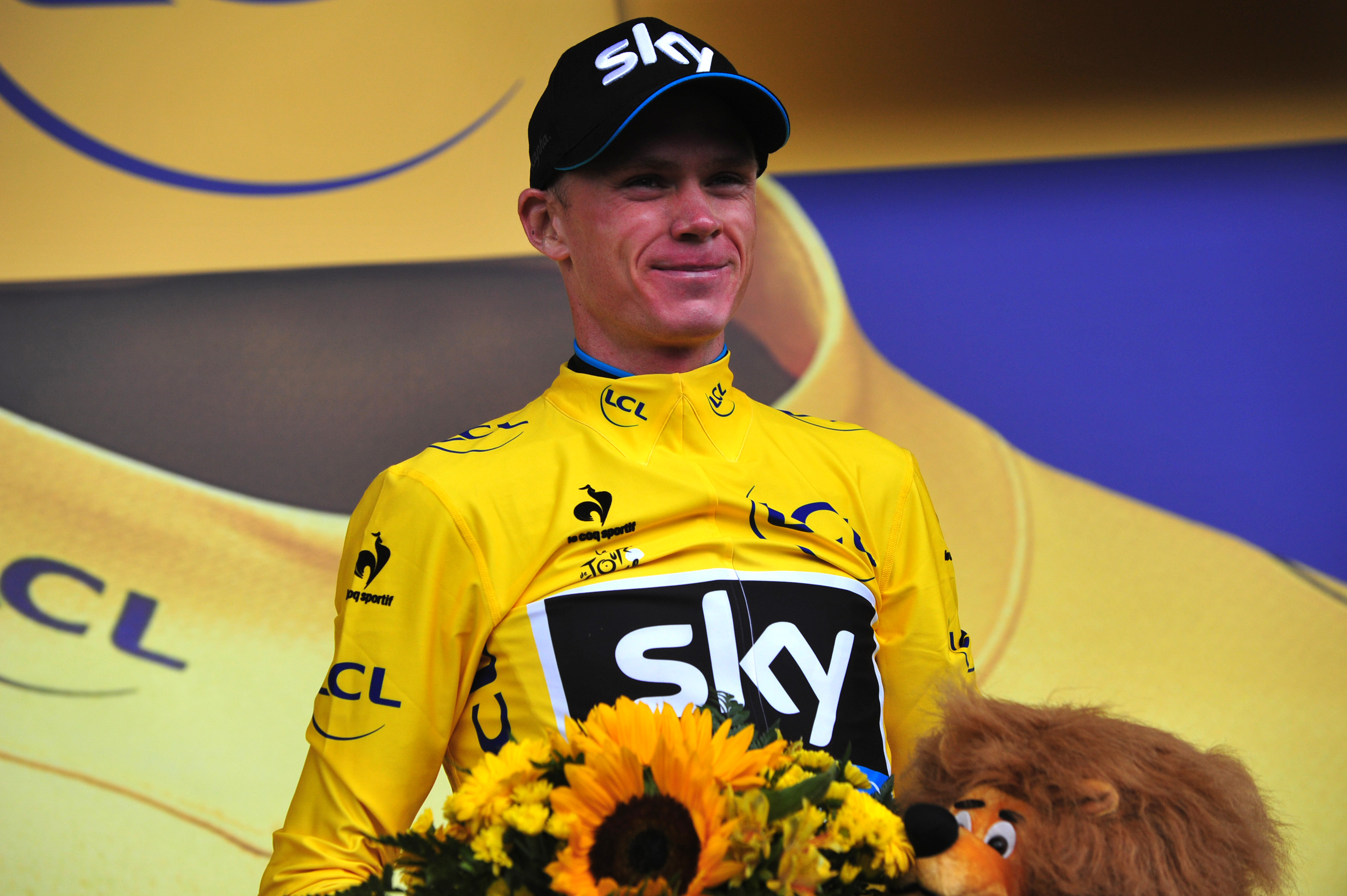 Tour de France 2015 - 12. Etappe - Chris Froome verteidigt sein Gelbes Trikot sicher. (pic: Sirotti)
