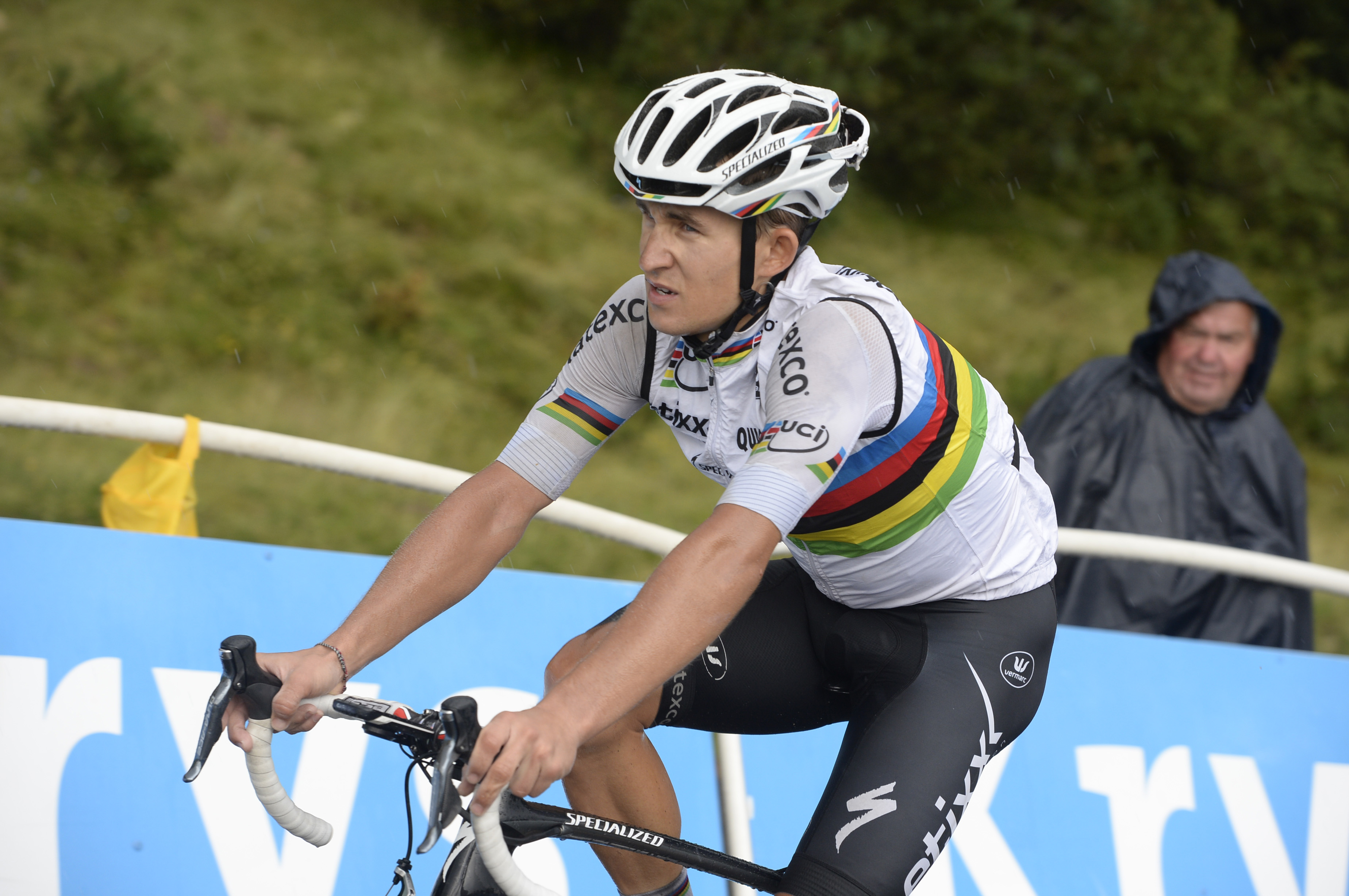 Tour de France 2015 - 12. Etappe - Michal Kwiatkowski zeigte eine eindrucksvolle Kostprobe seiner Power. (pic: Sirotti)