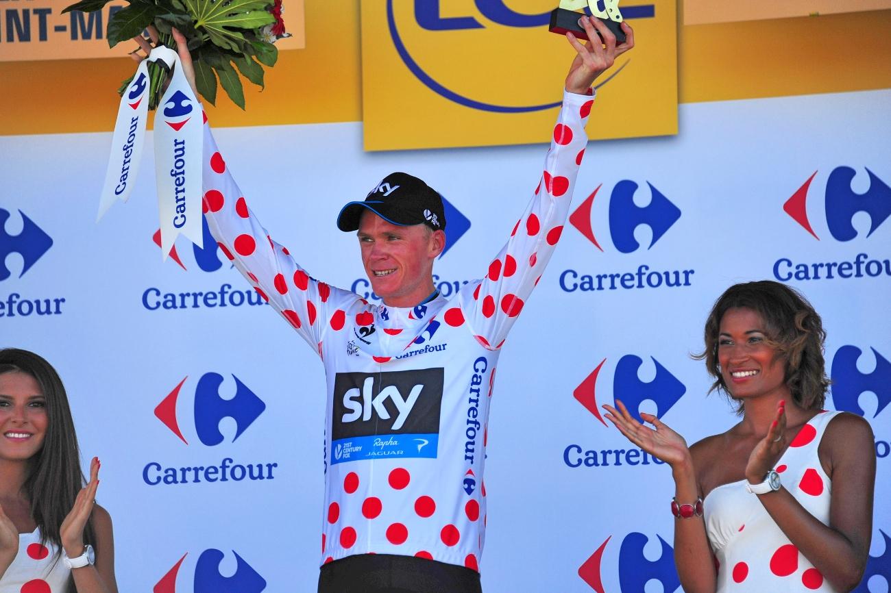 Tour de France 2015 - 10. Etappe - Chris Froome siegt. (pic: Sirotti)