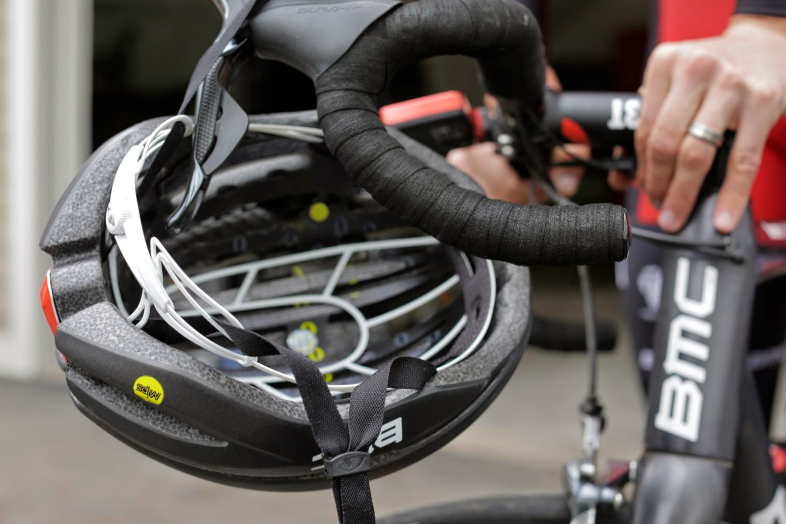 Der Giro Synthe MIPS kommt bereits bei der Tour de France 2015 zum Einsatz.