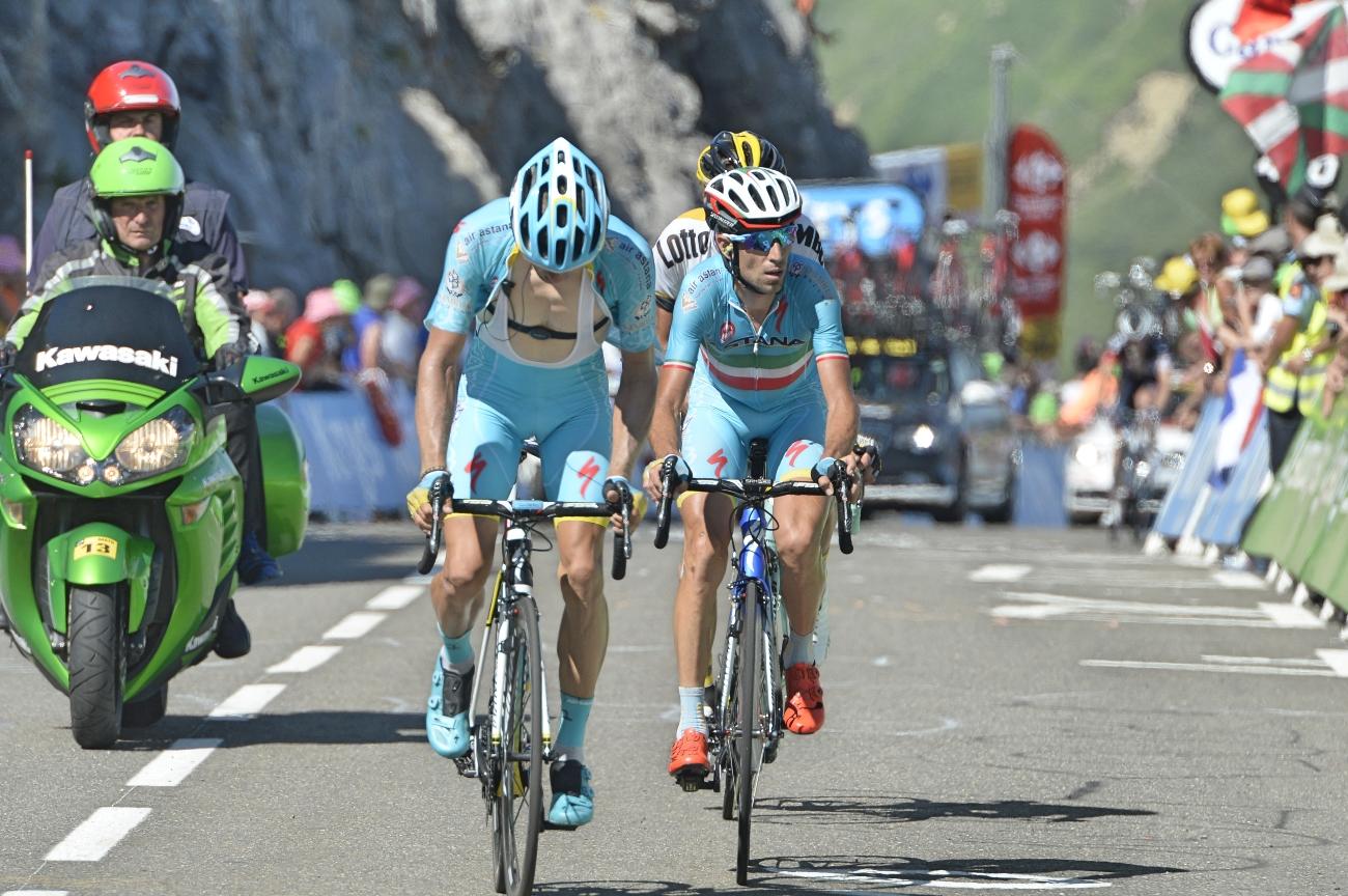 Tour de France 2015 - 10. Etappe - Vincenzo Nibali belegt nach der 10. Etappe der Tour den 10. Platz in der Gesamtwertung - fast 7 Minuten fehlen ihm auf Froome. (pic: Sirotti)