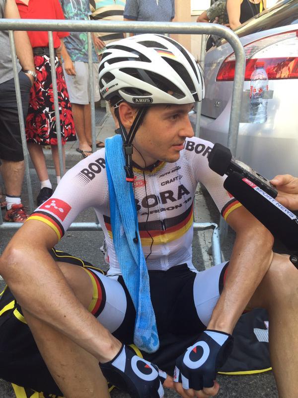 Emanuel Buchmann zeigte auf der 11. Etappe der Tour de France 2015 eine fantastische Leistung. Der deutsche Meister wird mit dem tollen 3. Platz belohnt.