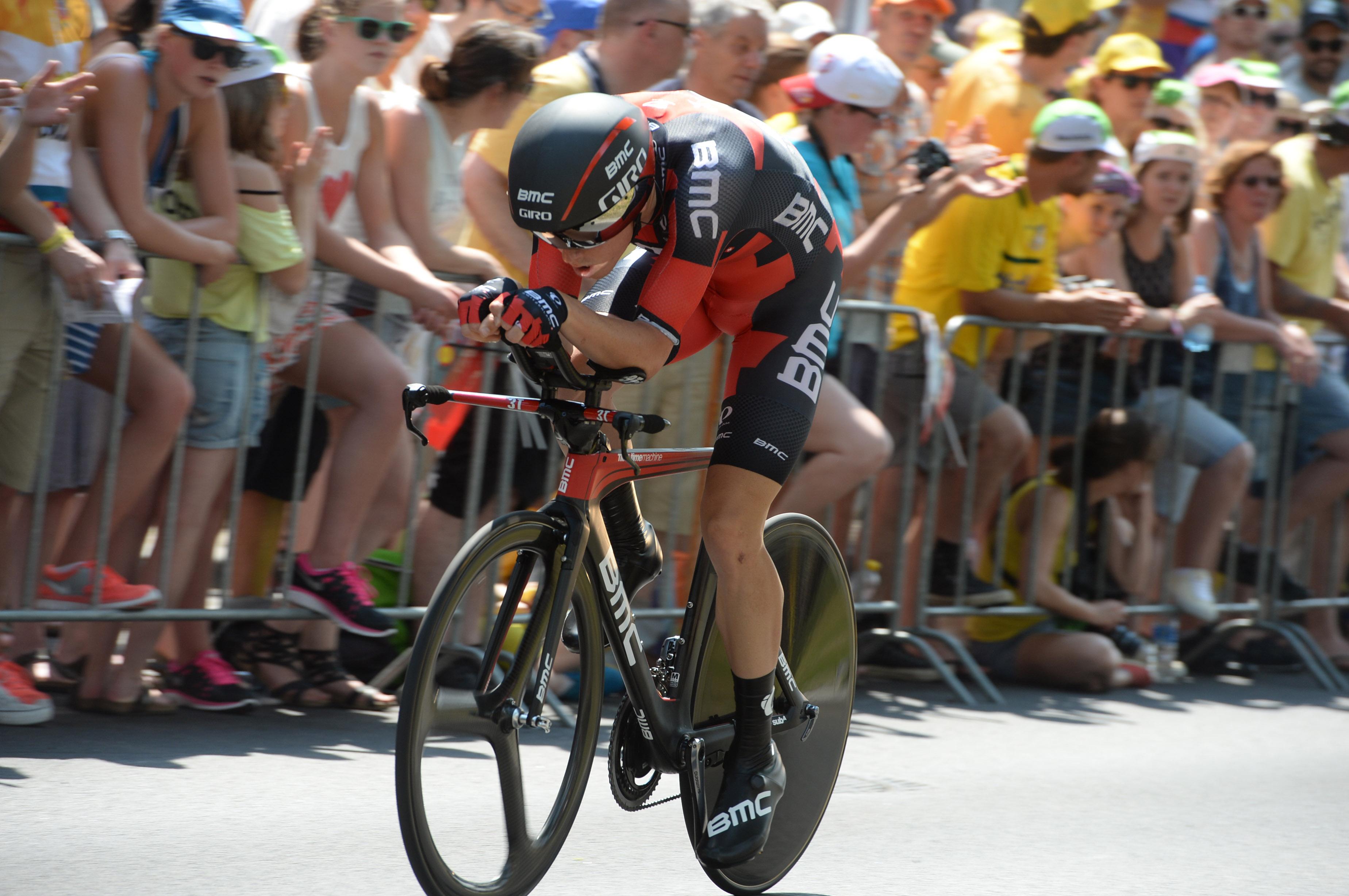 Rohan Dennis ist der Sieger der ersten Etappe der Tour de France 2015.