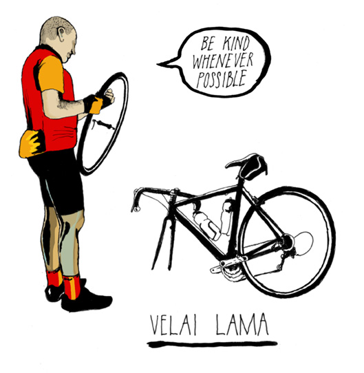 Der Velai Lama (Illustration: Matt Ward)
