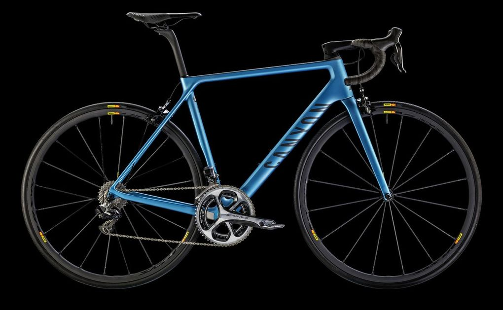 Sortiment 2016: Canyon Ultimate CF SLX 9.0 Di2 (Foto: Canyon)