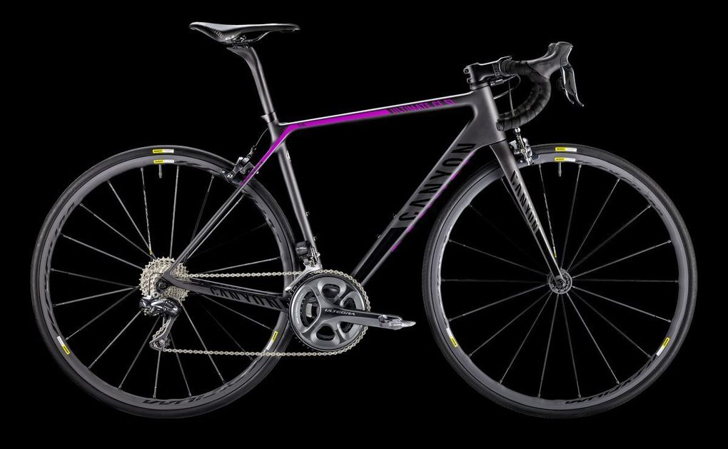 Sortiment 2016: Canyon Ultimate CF SL 9.0 Di2 WMN (Foto: Canyon)