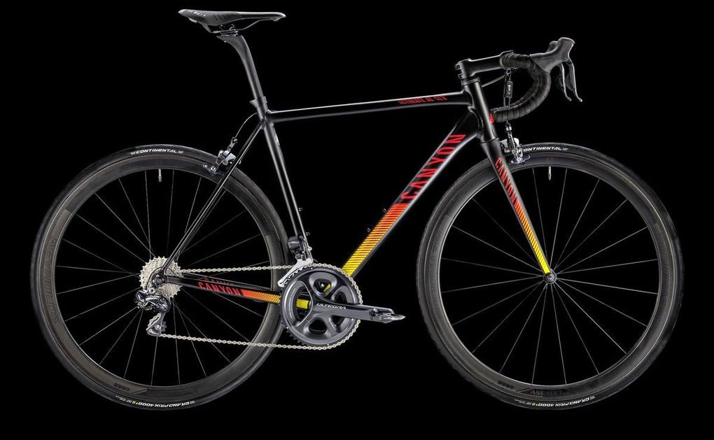 Sortiment 2016: Canyon Ultimate AL SLX 9.0 Aero (Foto: Canyon)