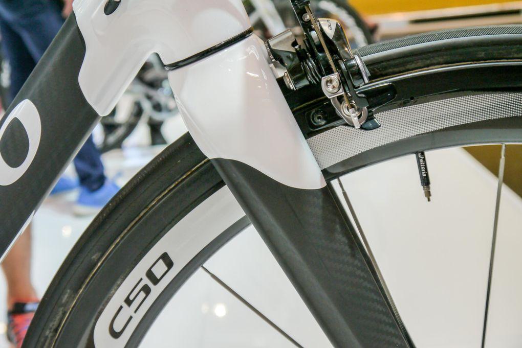 Eurobike 2015: gemufftes Design am Colnago C60