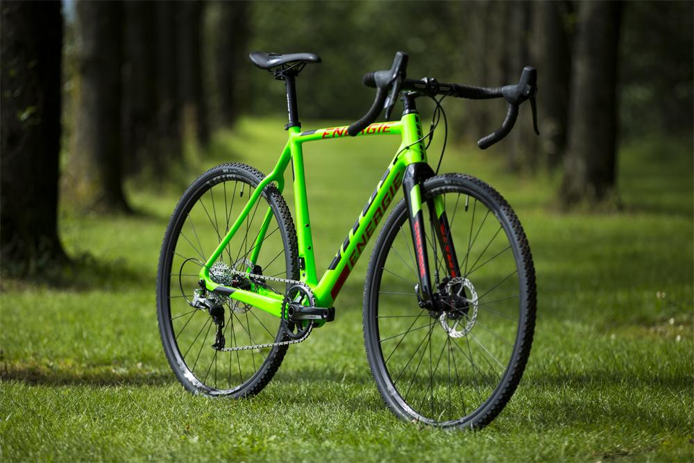 Das Cyclo-Cross Bike ist natürlich unerlässlich.