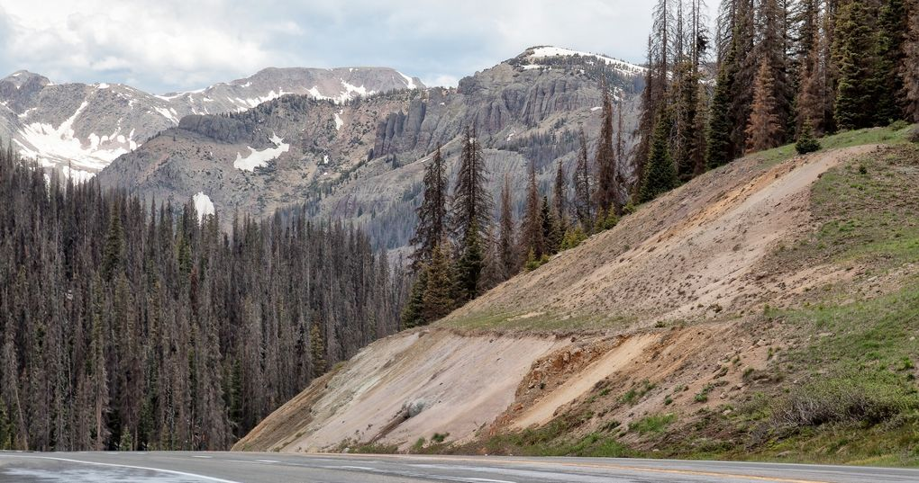 Die schönsten Rennrad-Strecken der Welt: Wolf Creek Pass in Colorado (Foto: Christopher Rosenberger, via Flickr Creative Commons)