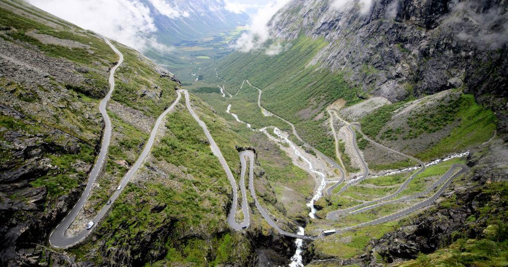 Die schönsten Rennrad-Strecken der Welt: Trollstigen in Norwegen (Foto: Caruba, via Flickr Creative Commons)