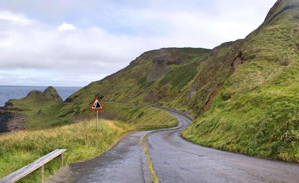 Die schönsten Rennrad-Strecken der Welt: Giants Causeway Coastal Road in Nordirland (Foto: Bill Anderson, via Flickr Creative Commons)