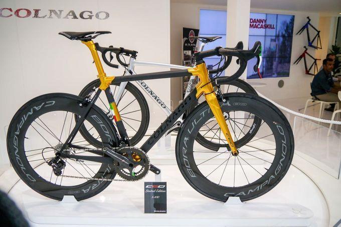 18 der besten Rennräder mit Scheibenbremsen 2016: Colnago C60 Disc