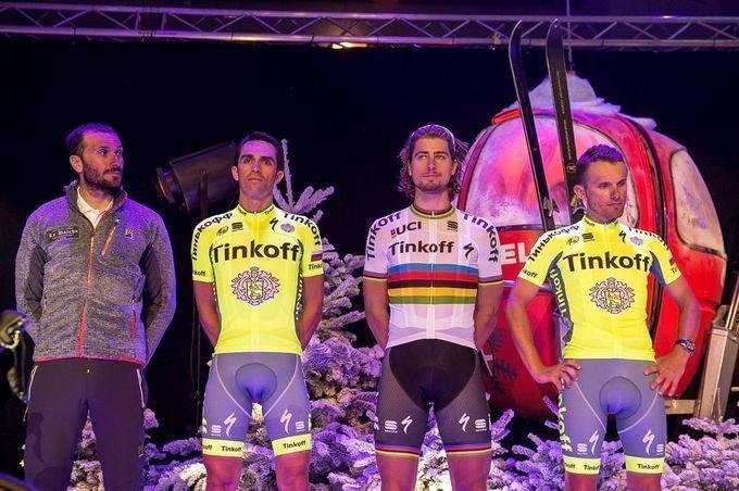 UCI-World-Tour-2016 - Rating aller 18 Team-Trikots: Platz 3 (4,5/5) – Tinkoff (Foto: Bettini Photo)