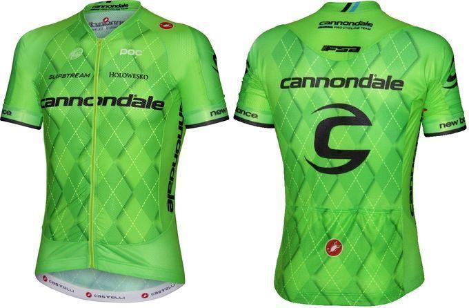 UCI-World-Tour-2016 - Rating aller 18 Team-Trikots: Platz 2 (5/5) – Cannondale (Foto: Cannondale)