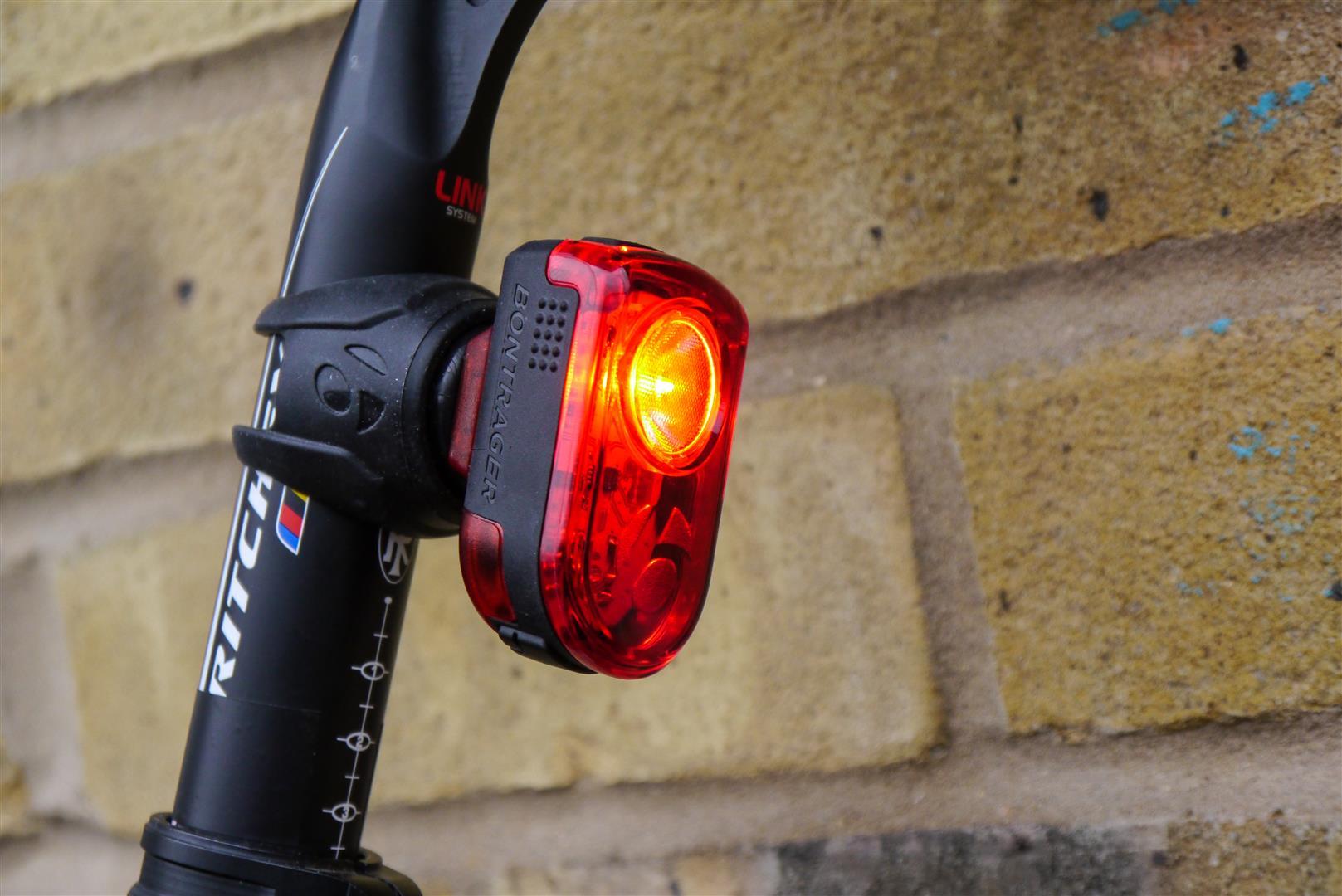 Heck mit je 2 LED Vorderlicht Rücklicht Rad Bike Licht Fahrrad Lampe Front