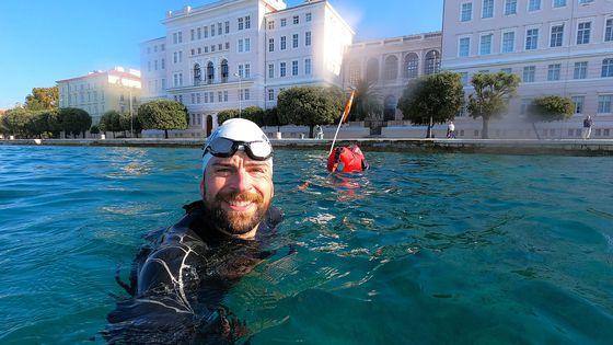 Jonas Deichmann schwimmt jetzt 456 Kilometer
