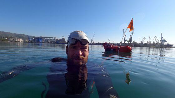 """Jonas Deichmanns Mammut-Triathlon: """"Schwimmen wird zum Wettlauf gegen die Zeit"""""""