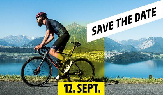Strecke L'Étape Switzerland by Tour de France – Save the Date