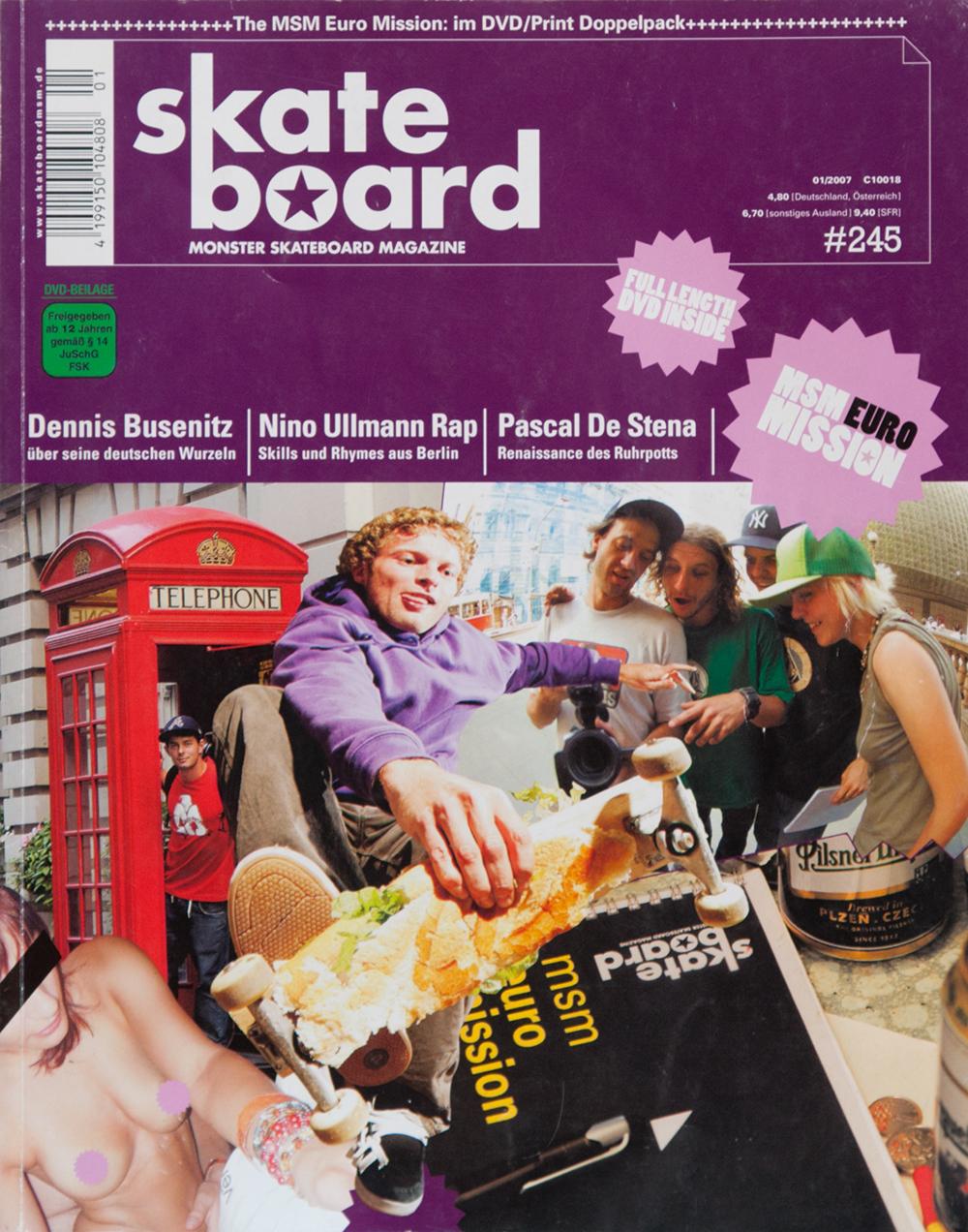 Jan Kliewer gilt eigentlich als Style König von Deutschland. Aber für die Euro-Mission Ausgabe alberte er sich per Baguette Boneless auf's Cover. Außerdem gab es nackte Tatsachen zu sehen…