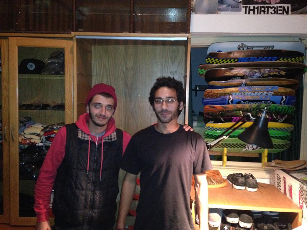 Bilal und Ghassan Al-Salman