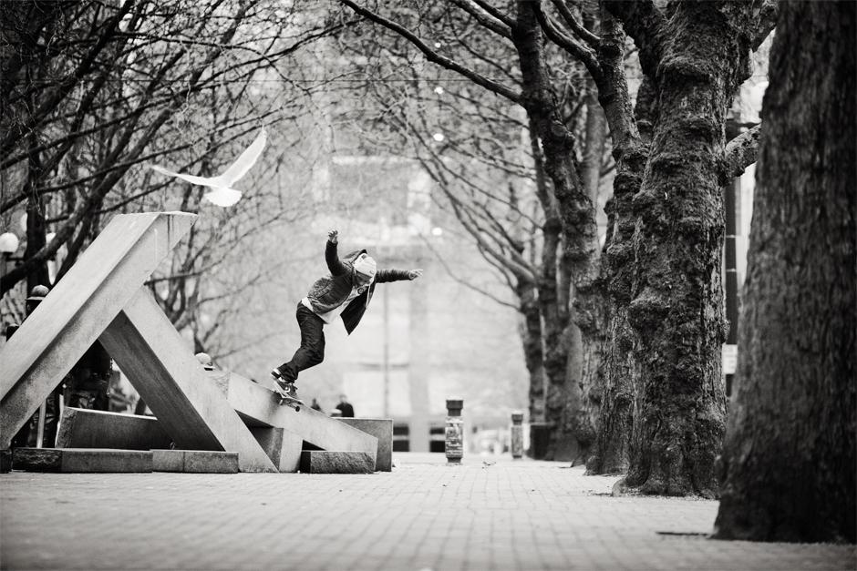 Dominick Walker – Backside Smithgrind | Photo: Brian Gaberman