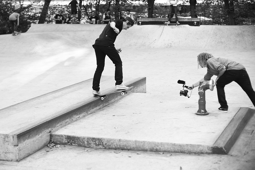 Norbert Szombati – Switch Backside Tailslide | Photo: Hendrik Herzmann