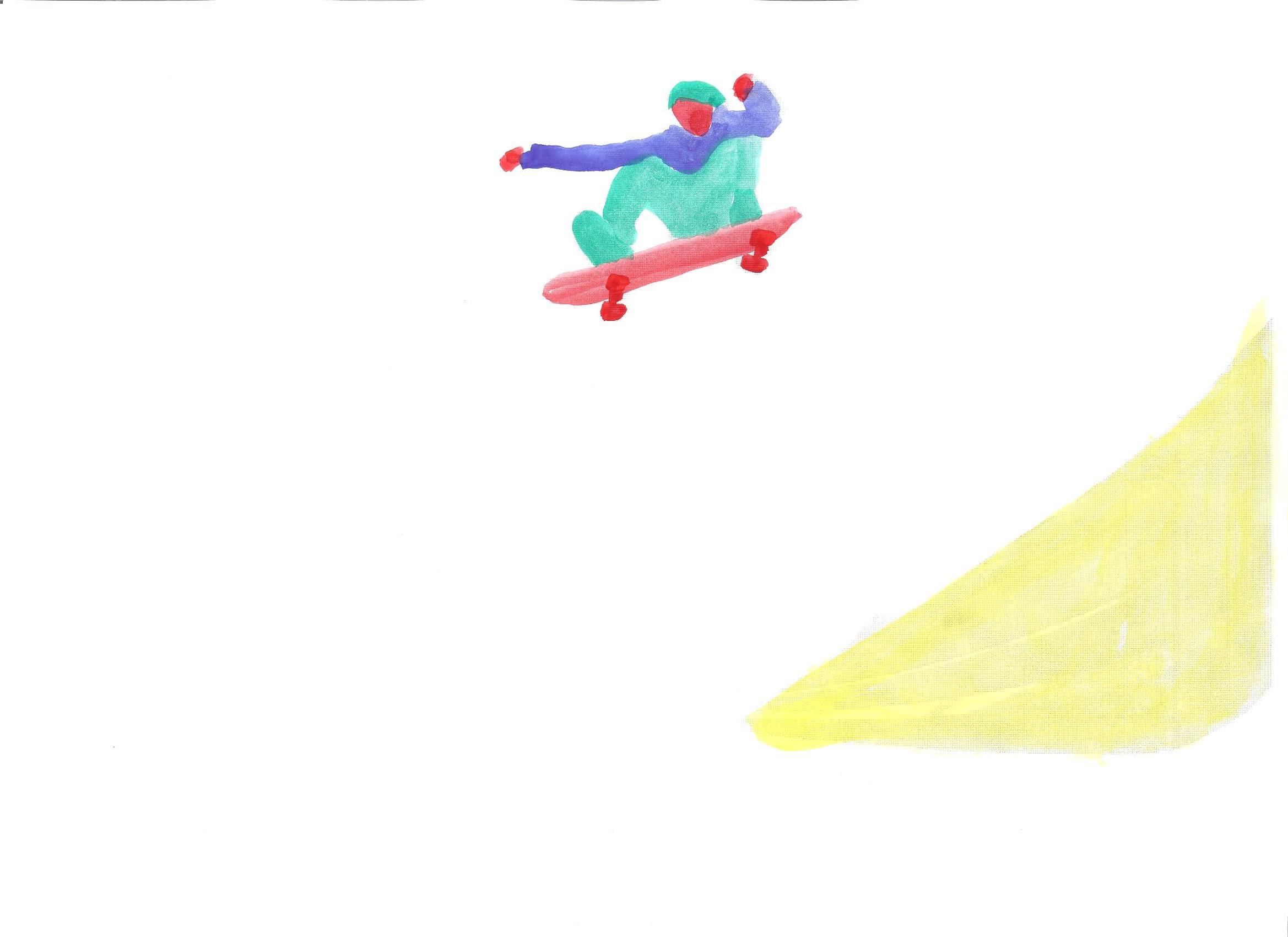 Wasserfarben – Yannick Stechmeyer-Emden